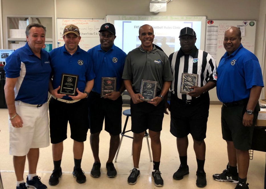 CFOA Flag Football Officials 2018
